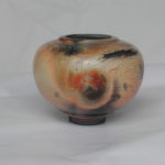 Vase terre sigillée cuit au bois